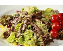 Salát s biftekem
